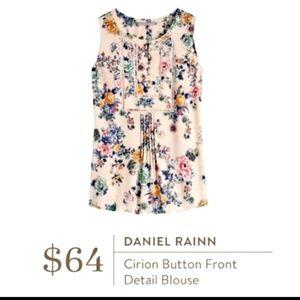 Daniel Rainn sleeveless floral top